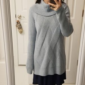 Calvin Klein - Cowlneck Cable Knit Sweater, Size S